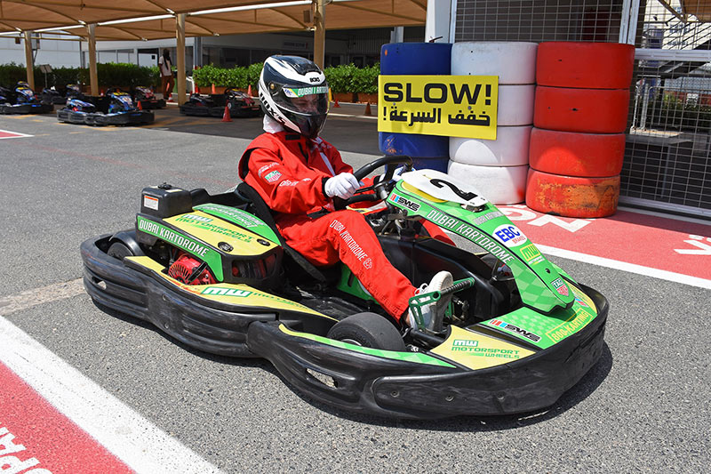 Getting on track: New World Karting. Photo: Aaron Meriwether